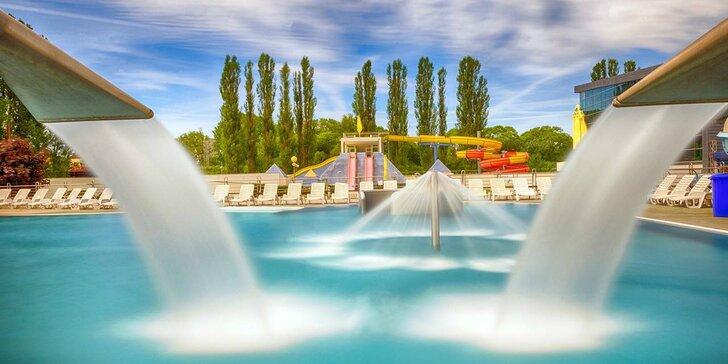 Dovolenka v Hoteli AquaCity Riverside*** so vstupom do všetkých bazénov aquaparku a extra vstupmi do saunového sveta AquaCity Poprad