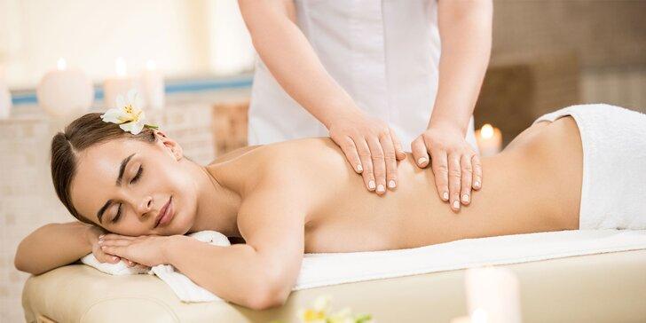Klasická a reflexná masáž, manuálna lymfodrenáž či masáž tváre