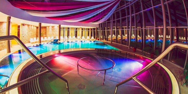 Špičkový – vysoko hodnotený Wellness Hotel Aquatermal*** s neobmedzeným vodným a saunovým svetom počas celého pobytu