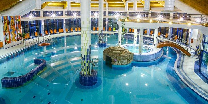 Bazénový a saunový svet Wellness Hotela Patince****