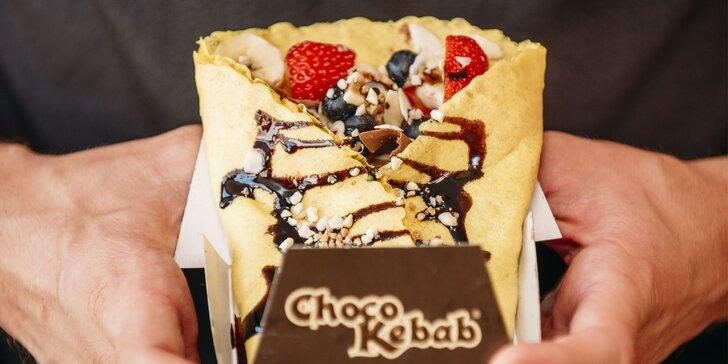 ChocoKebab na Kamennom námestí - sladká pochúťka s talianskou čokoládou a čerstvým ovocím