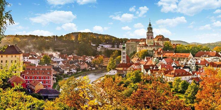 Romantika v centre Českého Krumlova: privátne wellness a raňajky s donáškou