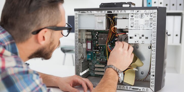 Servis, nastavenie či odvírenie PC a notebooku