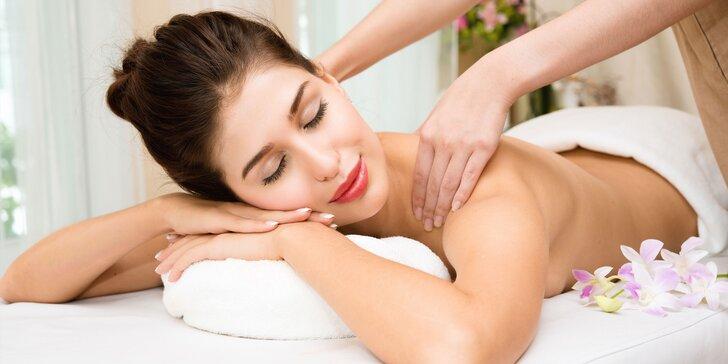 Relaxačné masáže podľa vlastného výberu