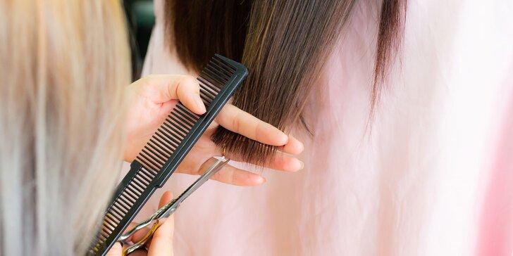 Dámsky strih a keratínová či botoxová kúra na vlasy