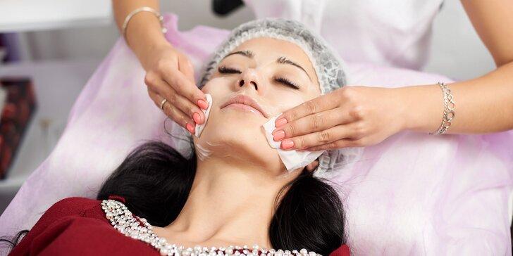 Hĺbkové čistenie pleti aj s masážou, úpravou obočia alebo ozonizérom