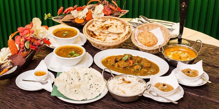Degustačné menu pre 2 osoby v indicko-bengálskej reštaurácií Maharadža