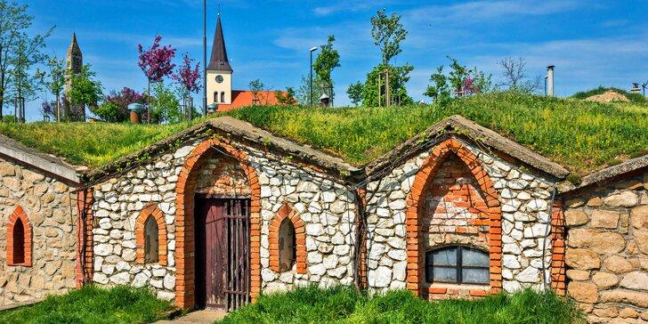 Romantický pobyt na 3 dni s raňajkami a fľašou vína v srdci južnej Moravy