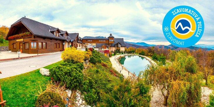 Wellness pobyt v prostredí Starohorských vrchov s panoramatickým výhľadom + dieťa do 12 rokov ZADARMO