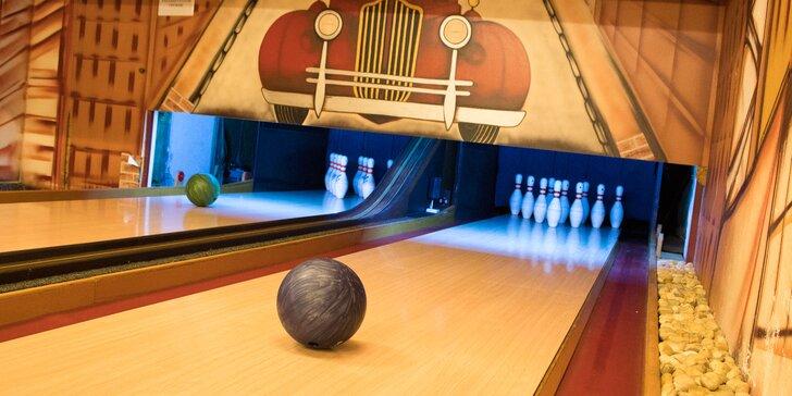 Hodina či dve bowlingu až pre 10 osôb