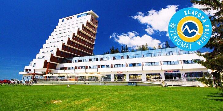 Pobyt v moderných apartmánoch a štúdiách PANORAMA RESORT**** na Štrbskom Plese
