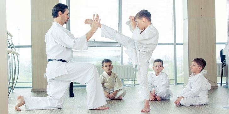 Kurzy karate a sebaobrany - pre deti, mužov aj ženy!