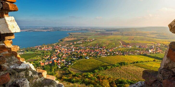 Príjemný vinársky pobyt na južnej Morave v Hoteli Pavlov