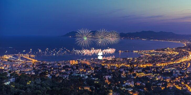 Netradičný Silvester v Cannes na Francúzskej riviére počas 5 dní