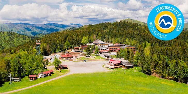 Farebná jeseň v obľúbenom horskom wellness hoteli Šachtička***