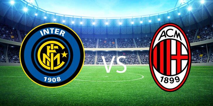 Zájazd na futbalový zápas Inter Miláno vs. AC Miláno v San Siro, Miláno