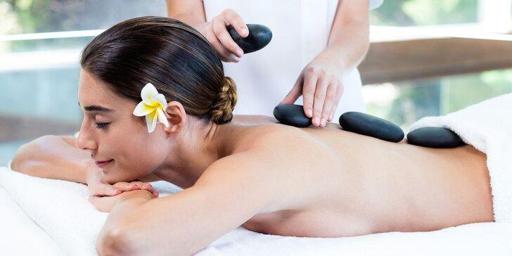Masáž lávovými kameňmi alebo havajská masáž od profi fyzioterapeuta