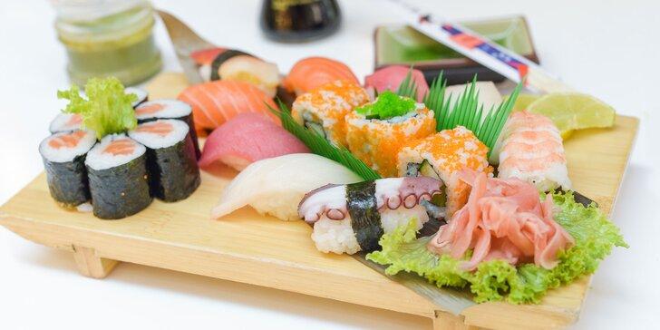 Sushi menu: 12 alebo až 18 kúskov
