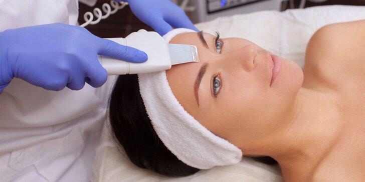 Vitamínová kúra, hĺbkový ultrazvuk a ozón či diamantová mikrodermabrázia