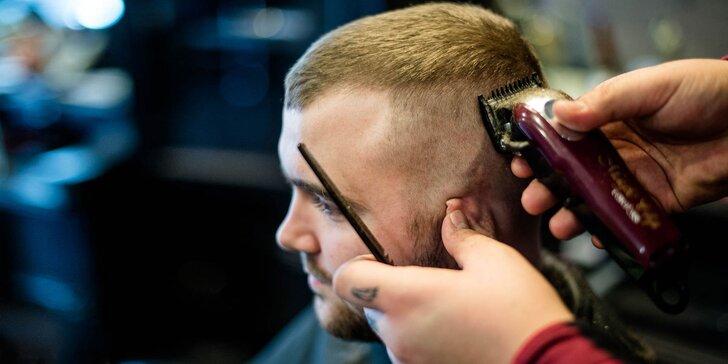 Pánsky strih, holenie tváre a úprava brady v barbershope Sidepart