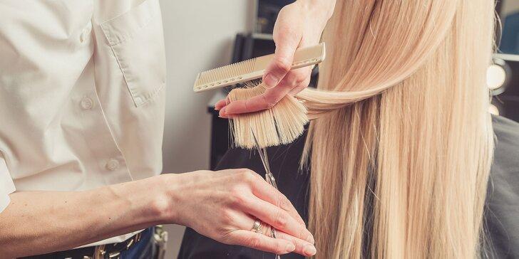 Nový strih, farba, melír a regenerácia pre vaše vlasy