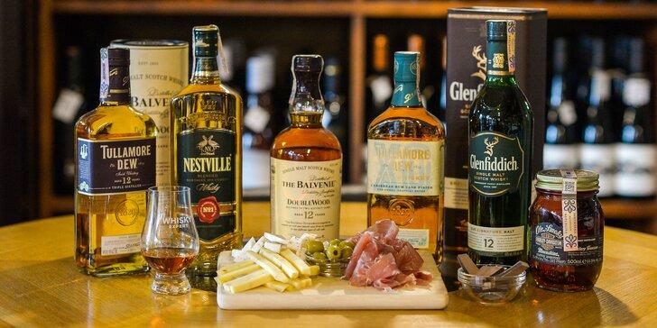 Jesenná degustácia whisky so someliérom spoločnosti WINE EXPERT