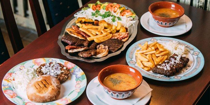 Degustačné 4-chodové srbské menu + špecialita Šabľa