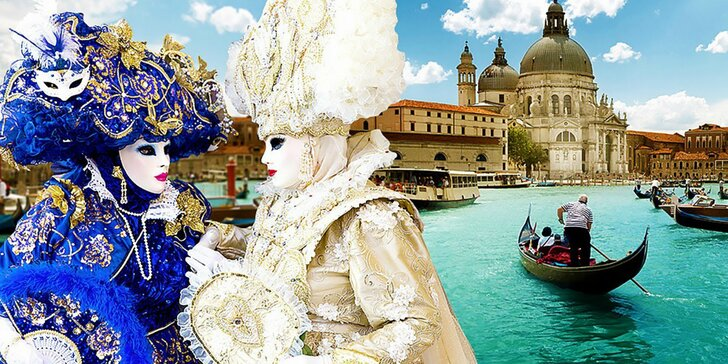 Romantické Benátky a legendárny karneval - darujte zážitok!
