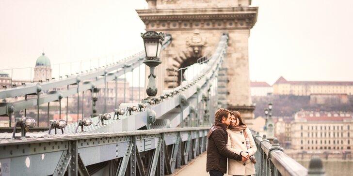 Oddych pre dvoch v historickom centre Budapešti - izby Deluxe a chutné raňajky