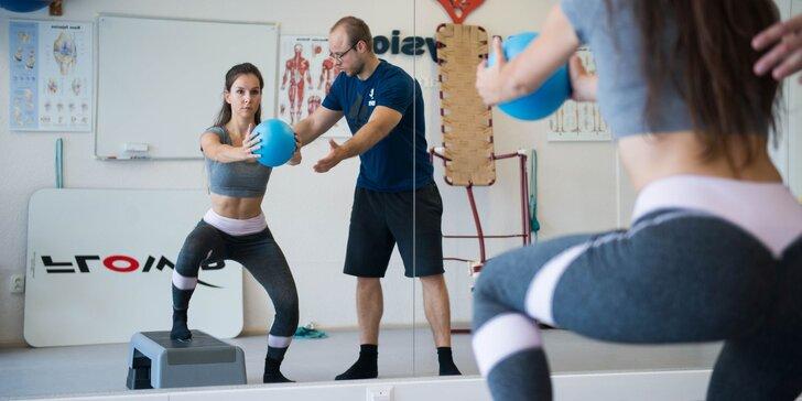 Diagnostika pohybového aparátu + cvičenie s fyzioterapeutom