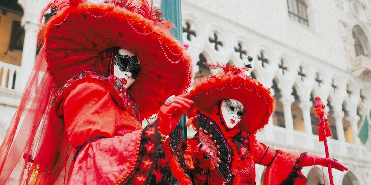 Zájazd na slávny Benátsky karneval a ceremóniu Letu Anjela z najvyššej veže