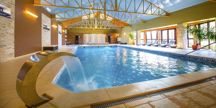 Relaxačný pobyt s polpenziou, wellness a masážou vo Wellness Hotel Spark ****