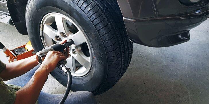 Výmena letných kolies za zimné alebo prezutie pneumatík