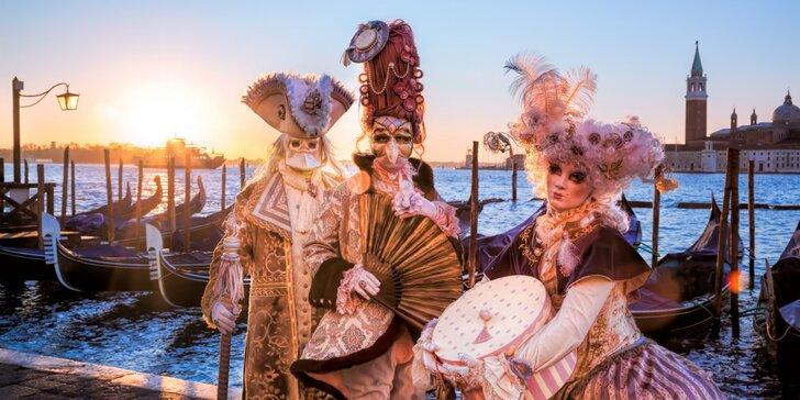 Benátsky karneval, zámok Miramare aj slovinský Bled počas jedného zájazdu!