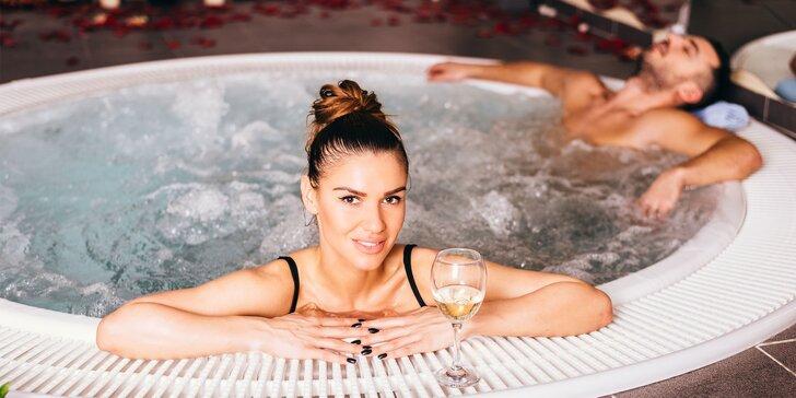 Pivný alebo relaxačný kúpeľ či privátny wellness