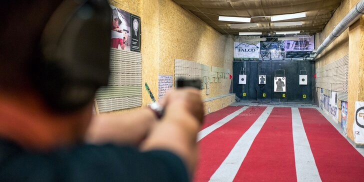 Adrenalínový vstup do strelnice so širokou škálou ručných zbraní