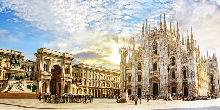 Poznávací zájazd plný nákupov v Miláne s prehliadkou mesta