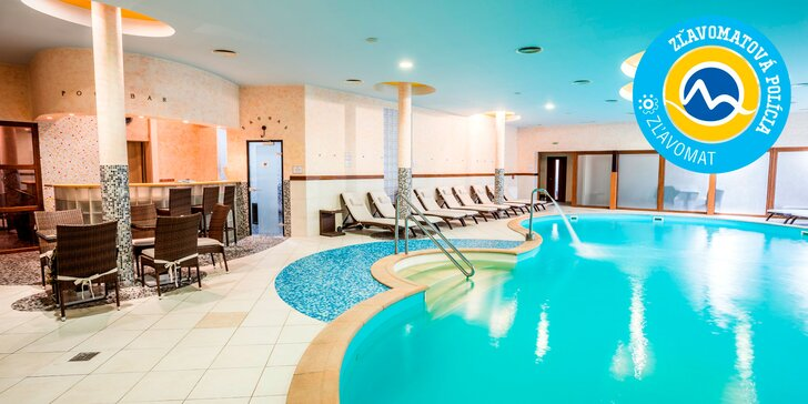Wellness pobyt v Hoteli Victoria**** s vlastným pivovarom, pivným kúpeľom a 3 hodinami aktivít. V blízkosti až 3 lyžiarske strediská!