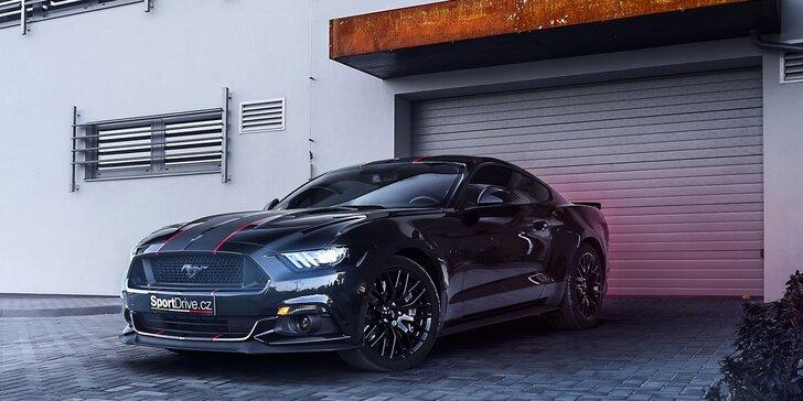 Jazda snov: 15–60 minút za volantom peckového Fordu Mustang GT