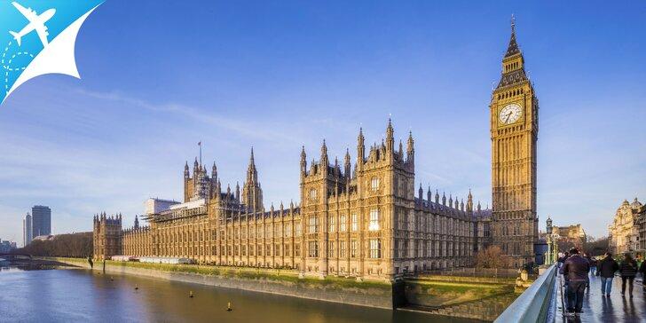 Spoznávanie Londýna a novoročné výpredaje