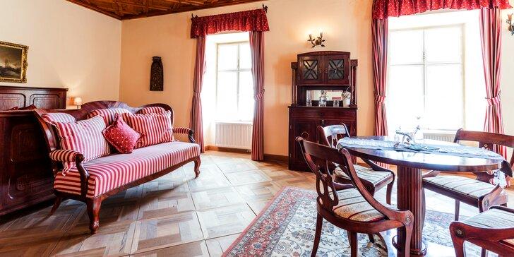 Romantický pobyt s wellness v historickom centre Banskej Štiavnice v penzióne Cosmpolitan II.