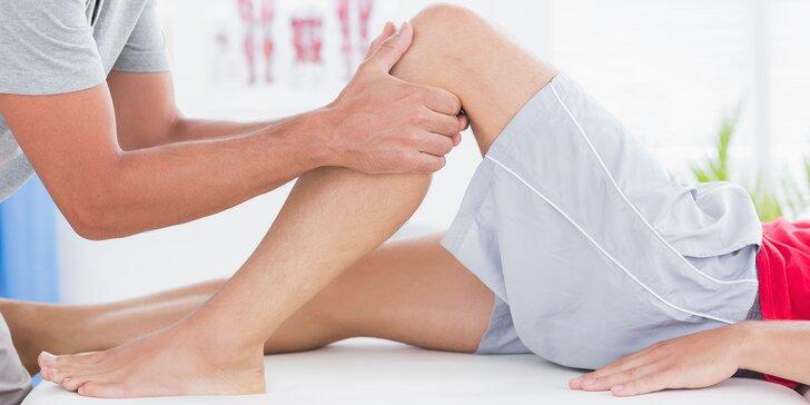 Tejpovanie, masáž s asistenciou fyzioterapeuta alebo infrasauna