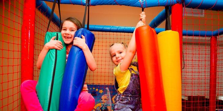 Hodinový vstup pre vašu ratolesť do detskej herne