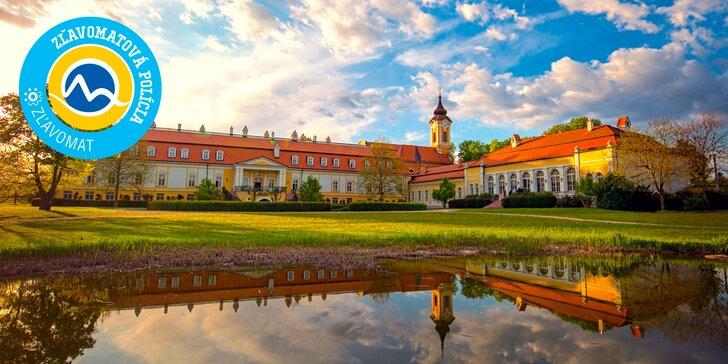 """Pobyt v """"Najromantickejšom historickom hoteli Európy"""" roku 2018: Kaštieľ Château Béla"""