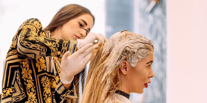 Dámsky strih alebo farbenie vlasov v novootvorenom salóne Elisabeth