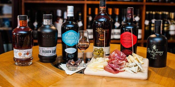 Profesionálna ochutnávka rumov so someliérom spoločnosti WINE EXPERT