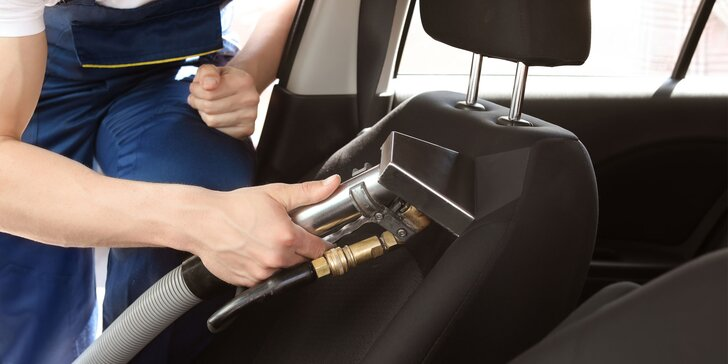 Kompletné čistenie a tepovanie interiéru 5 alebo 7-miestneho vozidla