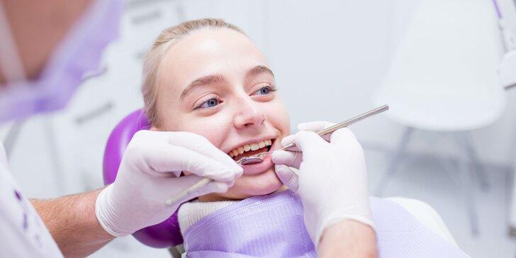 Balíčky dentálnej hygieny a domáce či ambulantné bielenie zubov