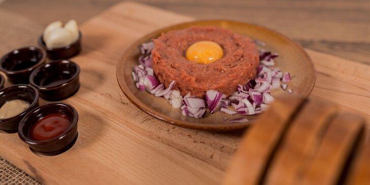 Tatársky biftek z hovädzej sviečkovice