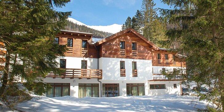 Lyžiarsky pobyt v skvelom Penzióne Gápeľ iba 700m obľúbeného lyžiarskeho strediska Jasná - Chopok Juh